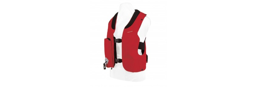 Dorsale, gilet de cross & Air bag
